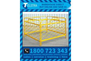 Telstra Yellow Barriers
