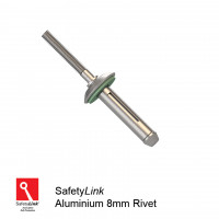 Safetylink Ferno Roof Anchor Rivets 7.5mm Aluminium bulb type rivet-PK 10