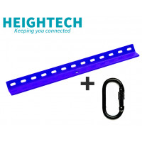 Heightech BLUE V-Bar Tetha 500mm Roof Anchor + Carabiner