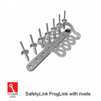 SafetyLink Froglink Stainless Steel Roof Anchors with Rivets (FROGL001)