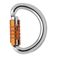 Petzl OMNI Semi-Circle Triple-Lock Carabiner (M37TL)