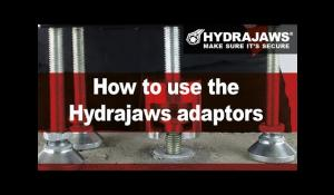 How to use the Hydrajaws adaptors.