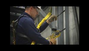 The Lad-Saf flexible cable system Installation