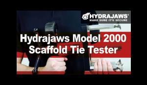 Hydrajaws® Model 2000 Scaffold Tie Tester