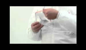 Fitting 3M™ Aura™ 9300+ Series Disposable Respirators