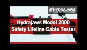 Hydrajaws® Model 2000 Safety Lifeline Cable Tester